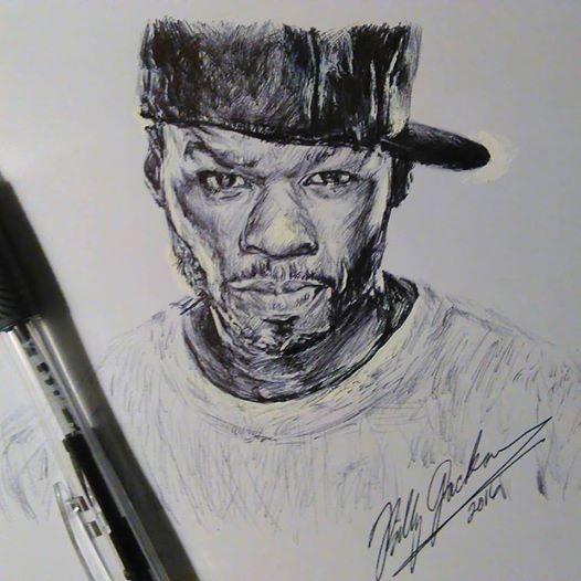 50 Cent by billyhjackson